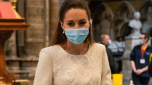 Kate Middleton's symbolic look on her visit to Westminster Abbey