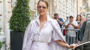 Céline Dion was not only the queen of the crown