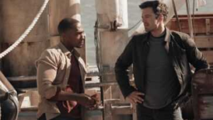 Falcon and Winter Soldier chat in new promotional spot
