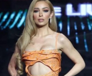 Eleni Foureira Her much-discussed appearance on the 3rd live of the House of Fame