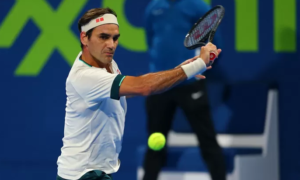 Roger Federer gives a lump sum for clay tournament in Rome