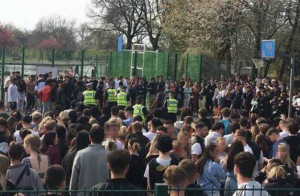 Hundreds of people gather as AJ Tracey announces 'surprise concert' at park, sparking huge police presence
