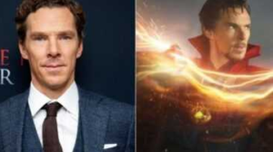 Benedict Cumberbatch was seen filming Doctor Strange 2 in England