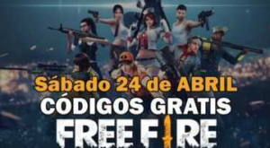Free fire codes available April 24, 2021