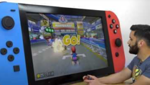 This Nintendo Switch is huge (and works)