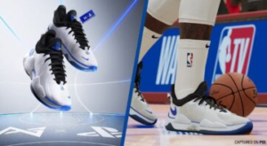These Paul George PS5 sneakers arrive in NBA 2K21 as well as in real life
